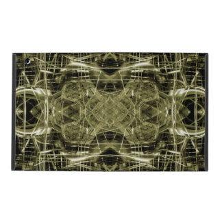 Abstract futuristic machine iPad cover