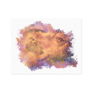 Abstract Galaxy Collection Canvas Print