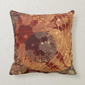 Abstract galaxy designer cozy cushion