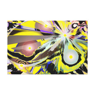 Abstract Galaxy Egg 2 Large version Canvas Print