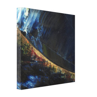 Abstract Galaxy Wrapped Canvas Stretched Canvas Prints