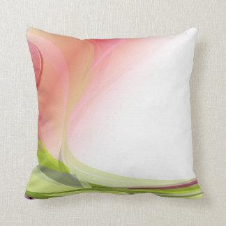 Abstract Garden American MoJo Pillow Cushion