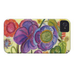 Abstract Garden I phone 4 Casemate case iPhone 4 Case-Mate Cases