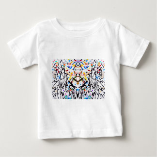 Abstract Garden in Reflection Baby T-Shirt