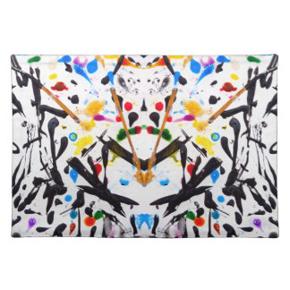 Abstract Garden in Reflection Placemat