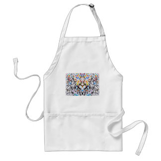 Abstract Garden in Reflection Standard Apron