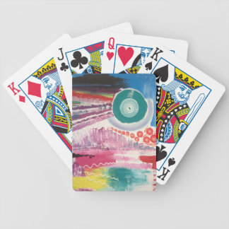 Abstract Garden Playing Cards