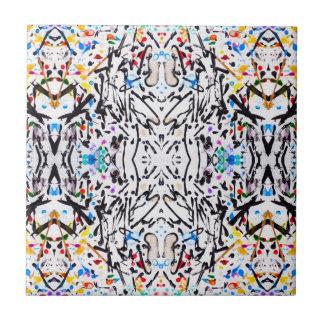 Abstract Garden Reflect Ceramic Tiles