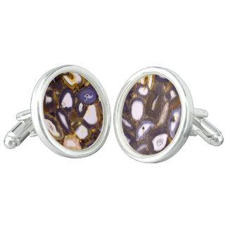 Abstract Geodes Cufflinks