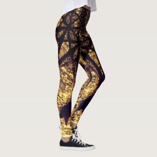 Abstract Geometric Art Leggings