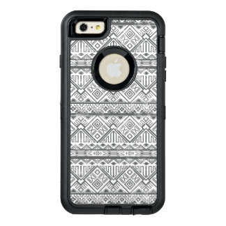 Abstract Geometric Aztec Pattern 2 OtterBox Defender iPhone Case