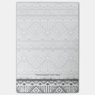 Abstract Geometric Aztec Pattern 2 Post-it Notes