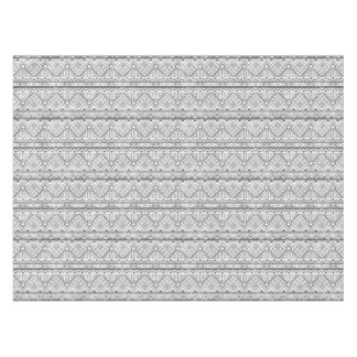 Abstract Geometric Aztec Pattern 2 Tablecloth