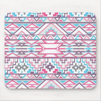 Abstract Geometric Aztec Pattern 3 Mouse Mat