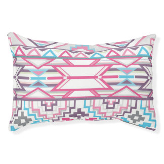 Abstract Geometric Aztec Pattern 3 Pet Bed