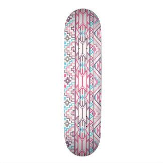 Abstract Geometric Aztec Pattern 3 Skateboard