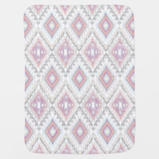 Abstract Geometric Aztec Pattern Baby Blanket