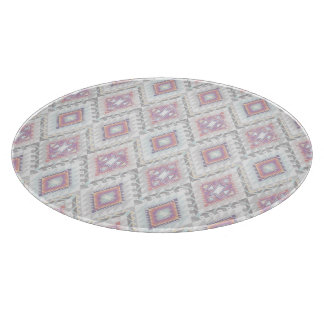 Abstract Geometric Aztec Pattern Cutting Board