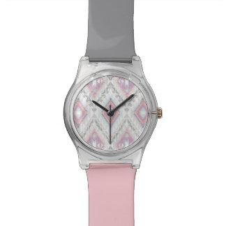 Abstract Geometric Aztec Pattern Watch
