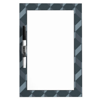 Abstract Geometric Background Pattern Dry Erase Board