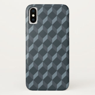 Abstract Geometric Background Pattern iPhone X Case