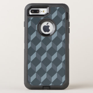 Abstract Geometric Background Pattern OtterBox Defender iPhone 8 Plus/7 Plus Case