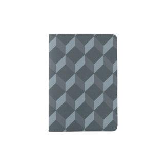 Abstract Geometric Background Pattern Passport Holder