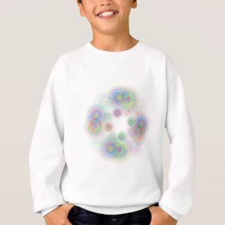 Abstract geometric circles. sweatshirt