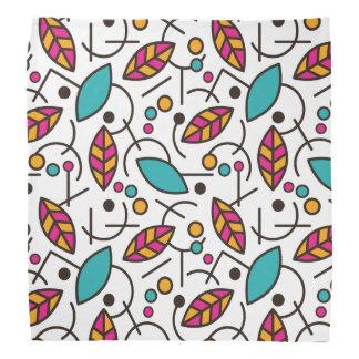 Abstract Geometric Colorful Seamless Pattern Bandana