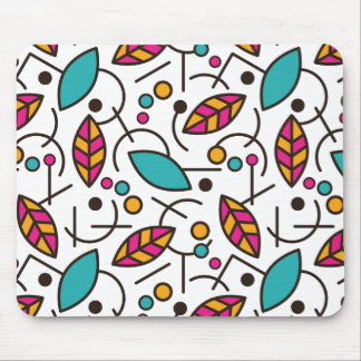 Abstract Geometric Colorful Seamless Pattern Mouse Mat