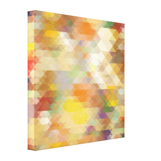 Abstract Geometric Design Gallery Wrapped Canvas