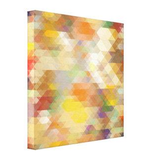 Abstract Geometric Design Canvas Print