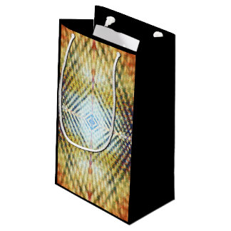 Abstract Geometric Diamond Shaped Layered Gift Bag