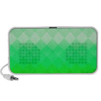 Abstract Geometric Green Travel Speaker