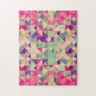 Abstract Geometric Jigsaw Puzzle