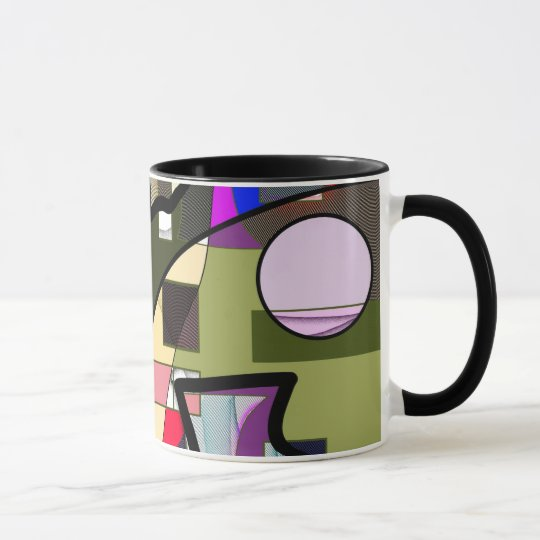 Abstract Geometric Modern Mug
