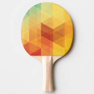 Abstract Geometric Pattern 2 Ping Pong Paddle