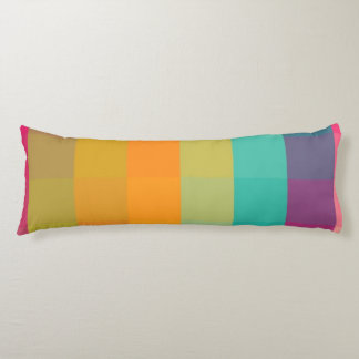 Abstract geometric pattern body cushion