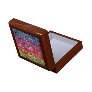 Abstract Geometric Pattern Gift Box