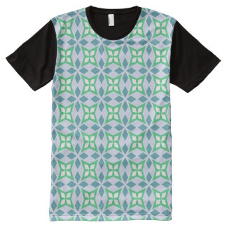 Abstract Geometric pattern All-Over Print T-Shirt