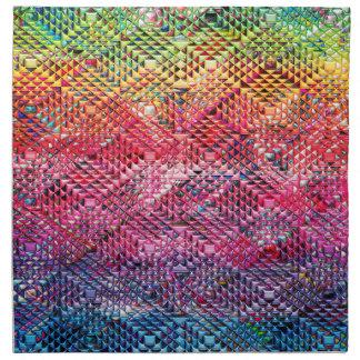 Abstract Geometric Pattern Napkin