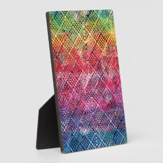 Abstract Geometric Pattern Plaque