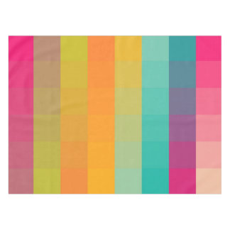 Abstract geometric pattern tablecloth