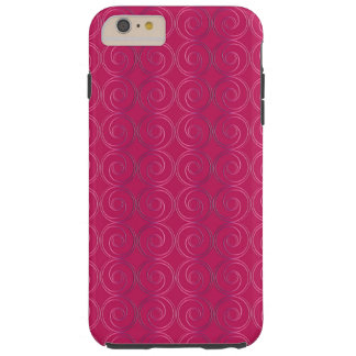 Abstract geometric pattern tough iPhone 6 plus case
