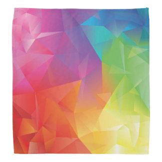 Abstract Geometric Rainbow Bandana