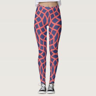 Abstract geometric shapes leggings