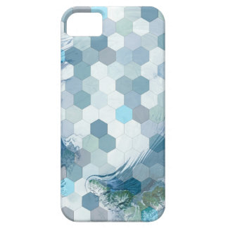 Abstract Geometric Water Case For The iPhone 5