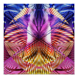 Abstract Geometry 1.2d Poster