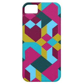 Abstract Geometry Barely There iPhone 5 Case