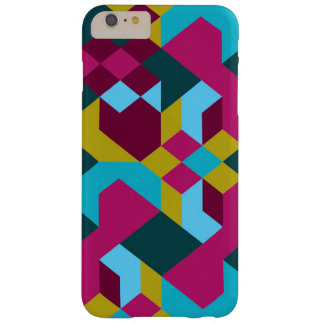 Abstract Geometry Barely There iPhone 6 Plus Case